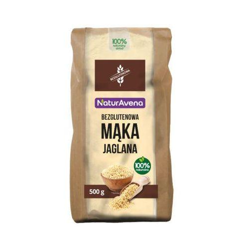 NATURAVENA 500g Mąka jaglana Bezglutenowa