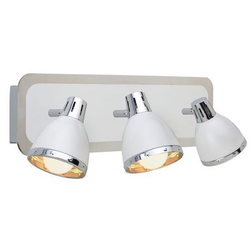 Light prestige Kinkiet fermo 3 lp-ck89829/3w biały + darmowy transport!