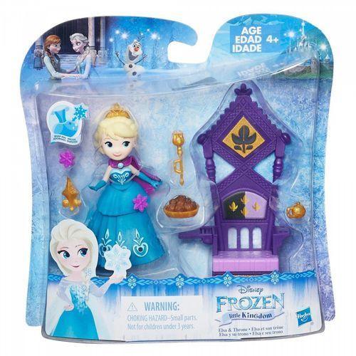 Frozen Elsa na tronie z kategorii Pozostałe lalki i akcesoria
