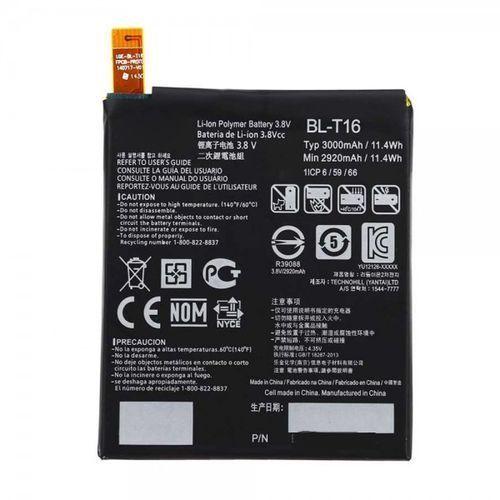 g flex 2 h955 / bl-t16 2920mah 11.1wh li-polymer 3.8v (oryginalny) marki Lg
