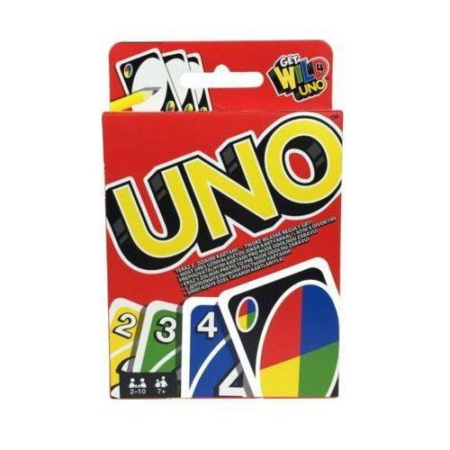 Gra karty uno - darmowa dostawa od 250 zł!! marki Mattel