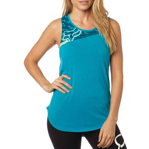 FOX koszulka bez rękawów damska Activated Muscle L niebieski, kolor niebieski