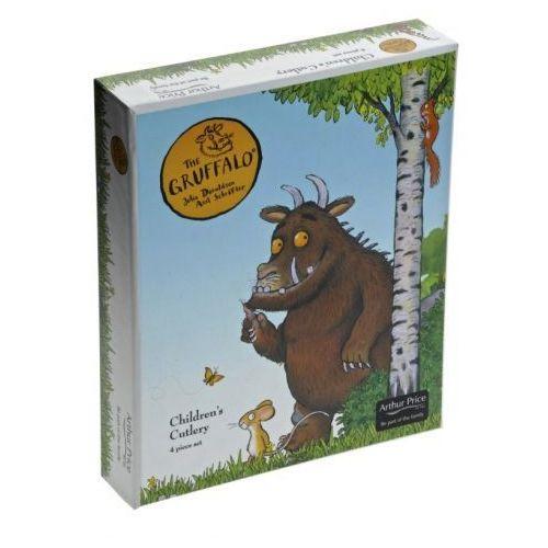 Arthur price grufallo's child 4 częściowy zestaw sztućców dla dziecka