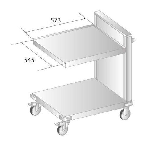 Wózek na kosze z podnoszoną platformą 675x795x885 mm | , dm-3416 marki Dora metal