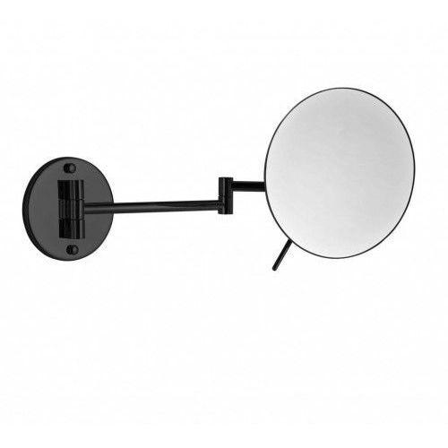Stella Lusterko kosmetyczne okrągłe powiększające x3 22.01430-B czarny mat