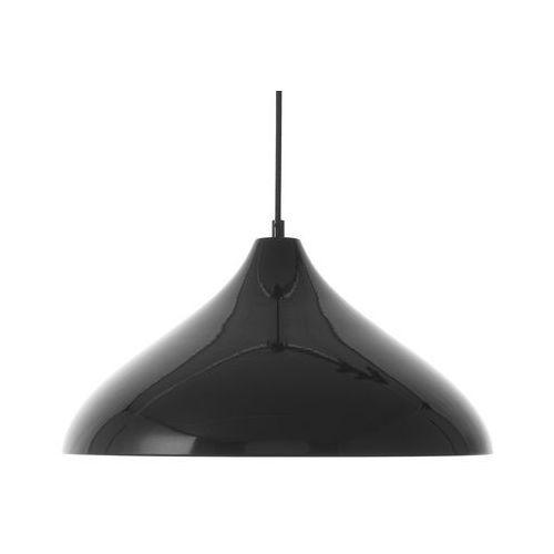 Lampa wisząca czarna iskar marki Beliani