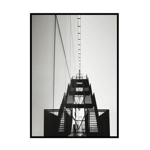 Obraz SCHODY METALOWE 70 x 100 cm (5901554536159)