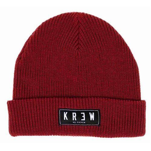 czapka zimowa KREW - Cuff Beanie Red (RED) rozmiar: OS