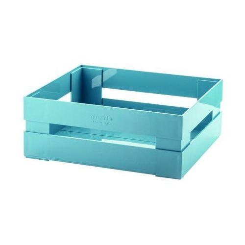 Guzzini - Tidy & Store - Skrzynka Kitchen Active Design duża, niebieski - niebieski (8008392295723)