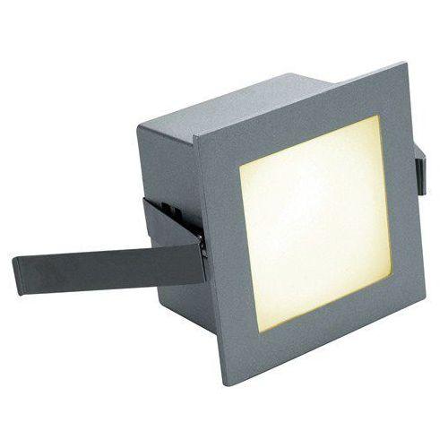 Spotline Lampa sufitowa oprawa wpuszczana frame basic 1x1w led szara 111262