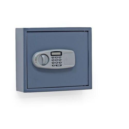 Szafka na klucze, 50 haczyków, 340x400x120 mm marki Aj produkty