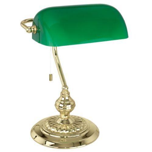 lampa stołowa BANKER mosiądz PROMOCJA, EGLO 90967