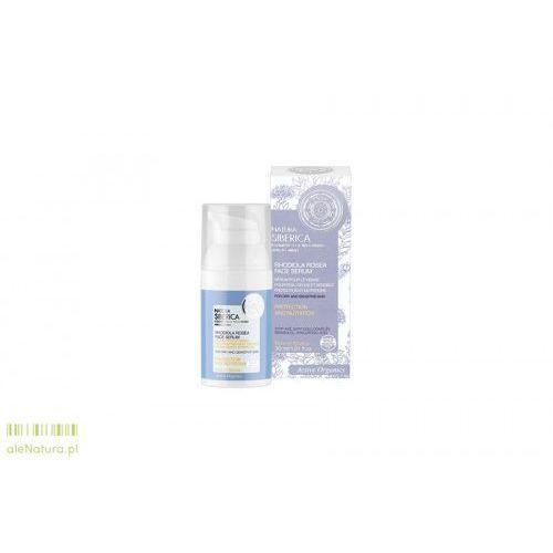 Natura siberica  - serum do twarzy cera sucha - ochrona i nawilżenie 30 ml