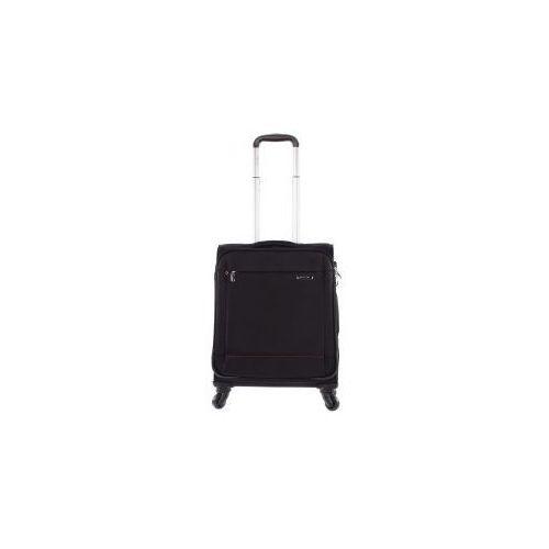 PUCCINI walizka mała/ kabinowa z kolekcji NEW ROMA materiał poliester zamek szyfrowy z systemem TSA