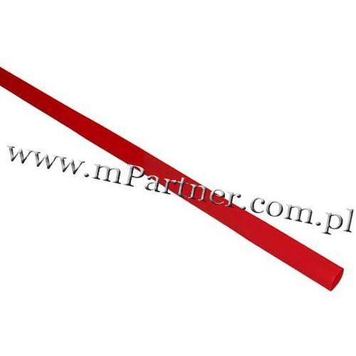 Rura termokurczliwa elastyczna V20-HFT 3,5/1,8 czerwona