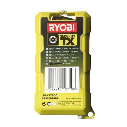 Zestaw bitów Ryobi RAK17SDC 17 szt.
