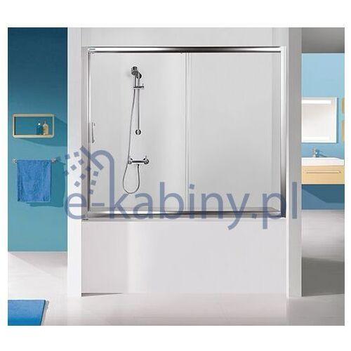 Sanplast Drzwi przesuwne nawannowe D2-W/TX5b-140-S sbW0 czyste szkło 600-271-1540-38-401, 600-271-1540-38-401