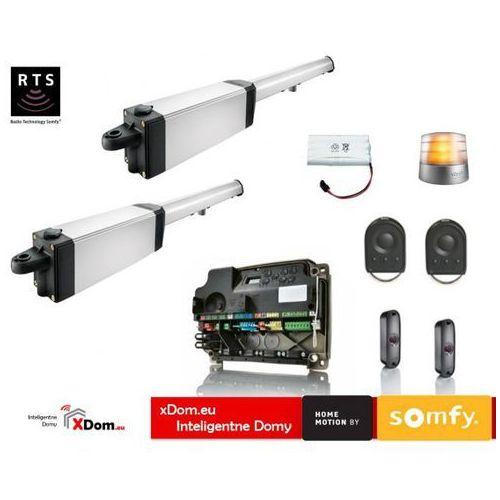 Ixengo l 3s rts 24v comfort pack (2 piloty 4-kanałowe keygo, lampa, fotokomórki, antena, akumulator) marki Somfy