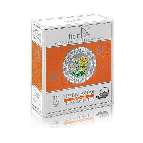 Tiande Herbata ziołowa tybetańskie zioła 30 saszetek po 1,5 g 123923 (4650061390310)