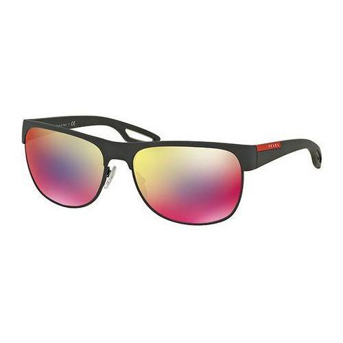 Prada linea rossa Okulary słoneczne ps57qs lj silver tfz9q1