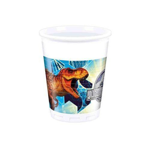 Kubeczki urodzinowe Jurassic Park - Park Jurajski - 200 ml - 8 szt. (5201184872109)