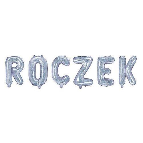 """Zestaw balonów foliowych """"Roczek"""" holograficzny - 35 cm (5907509930386)"""