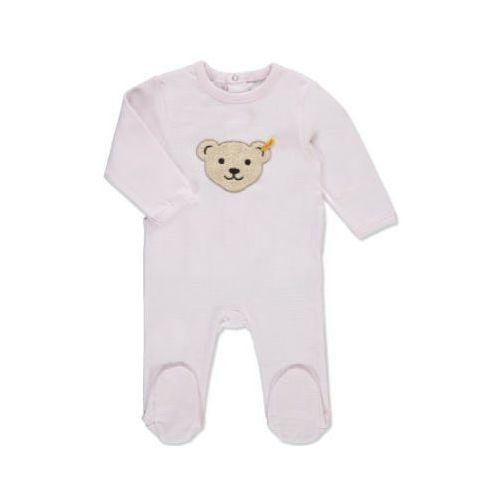 girls baby śpioszki barely pink marki Steiff