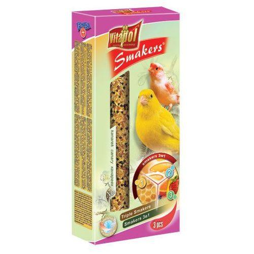 smakers 3w1 kolby dla kanarka 3szt/90g wyprodukowany przez Vitapol