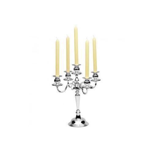 Świecznik pięcioramienny stołowy