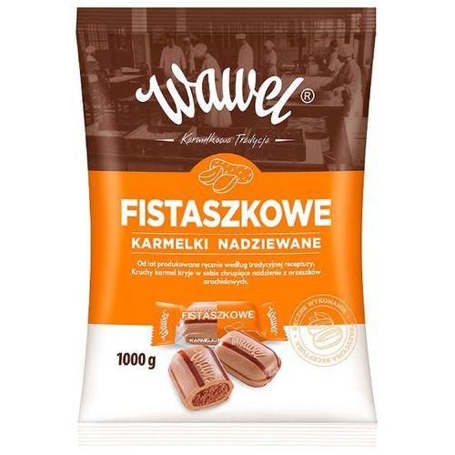 WAWEL 1kg Fistaszkowe Karmelki nadziewane | DARMOWA DOSTAWA OD 150 ZŁ!