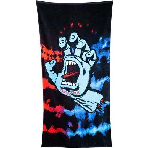Ręcznik - screaming hand tie dye towel red/blue (red-blue) rozmiar: os marki Santa cruz