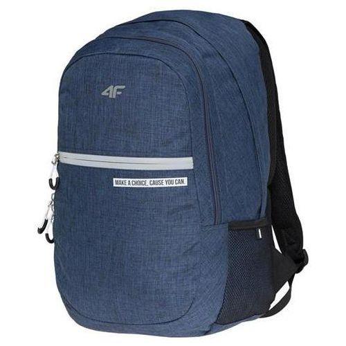 PLECAK 4F H4L18 PCU012 GRANATOWY, kolor niebieski