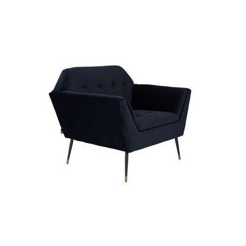fotel lounge kate granatowy 3100063 marki Dutchbone