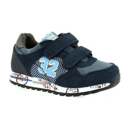 Sportowe buty dla dzieci American Club K152753 - Granatowy, kolor niebieski
