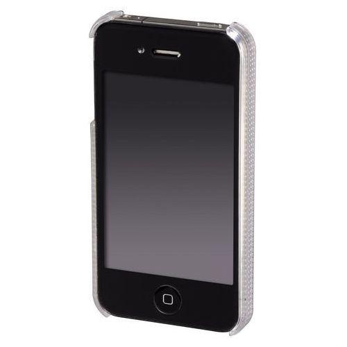 Etui HAMA do iPhone 4 White Diamonds Rainbow Biały, kolor biały