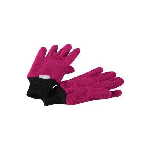 Rękawiczki pięciopalczaste  osk malinowy róż marki Reima