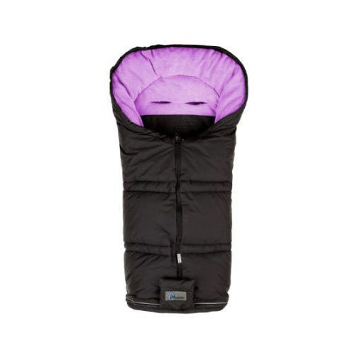 ALTABEBE Śpiworek zimowy Sympatex do wózka kolor czarny/różowy (4897015975753)