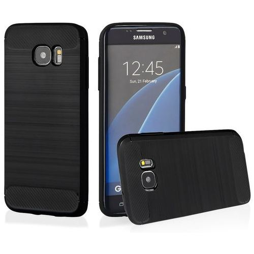 Qult Etui back case armor do samsung galaxy s7 edge czarny (5901836683915)