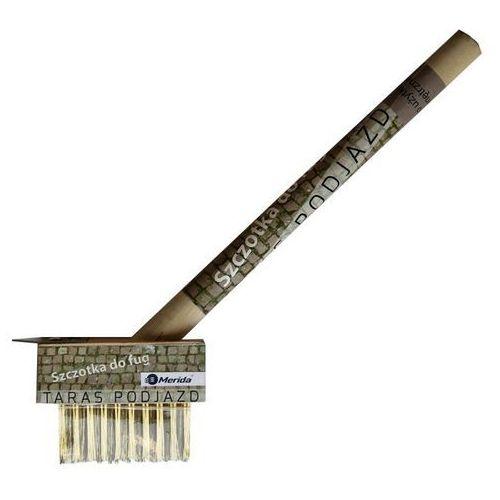 Szczotka z metalowym włosiem do mycia fug do użytku zewnętrznego, M.HRD703