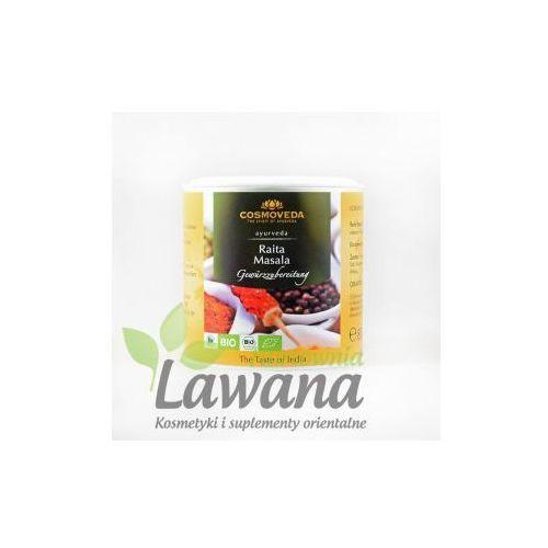 Cosmoveda Mieszanka przypraw do warzyw z jogurtem raita masala organiczna 80g (4032108129488)