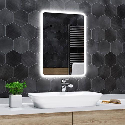 Alasta Lustro łazienkowe z podświetleniem led - 50x60cm - osaka