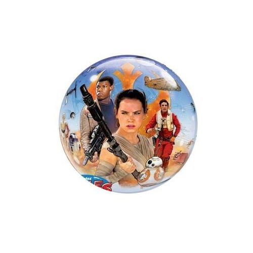 Balon foliowy bubble star wars - 56 cm marki Go
