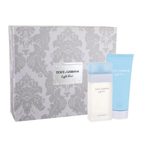 Dolce&Gabbana Light Blue zestaw Edt 50ml + 100ml Krem do ciała dla kobiet