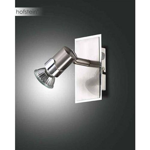 alice spot ścienny nikiel matowy, 1-punktowy - nowoczesny - obszar wewnętrzny - alice - czas dostawy: od 10-14 dni roboczych marki Fabas luce