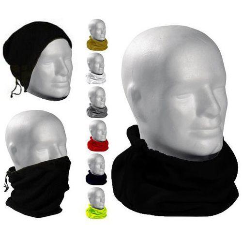 Valento Komin polarowy, opaska na włosy, szalik alpine bialy