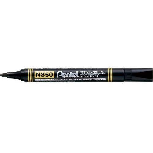 Marker permanentny n850 czarny marki Pentel