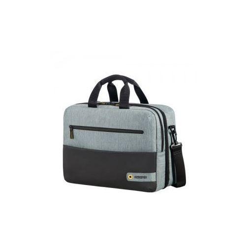 "AMERICAT TOURISTER 3-way shoulder bag torba/ plecak 2w1 kolekcja CITY DRIFT materiał poliester miejsce na laptop 15,6"" i tablet"