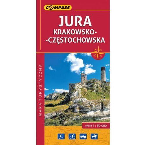 Jura Krakowsko-Częstochowska mapa turystyczna 1:50 000 - Compass, Compass