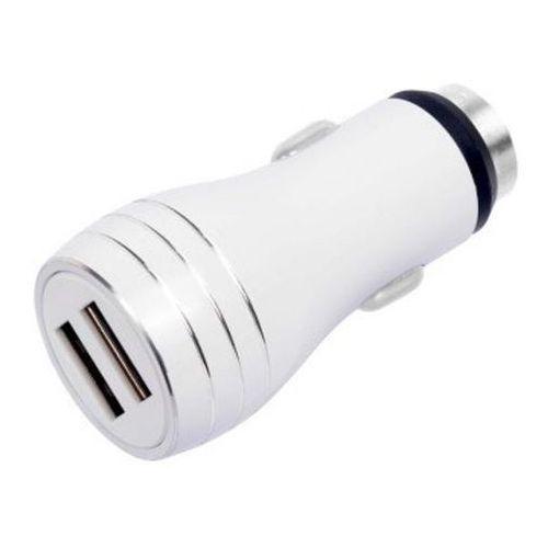 Ładowarka Libox 2x USB 2.4A Biały (LB0058) Darmowy odbiór w 21 miastach!