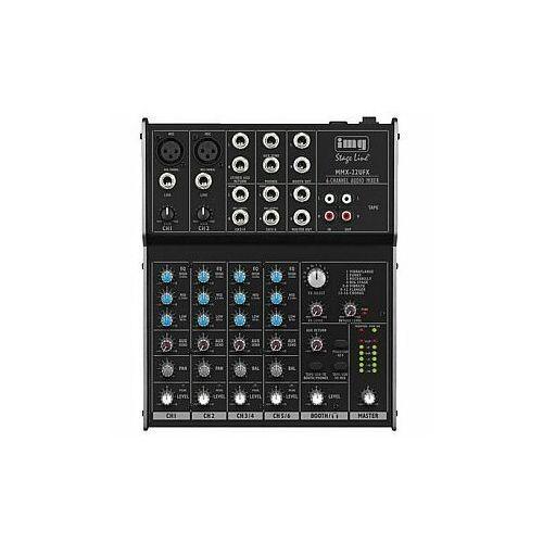 MONACOR MMX-22UFX 4-kanałowy mikser audio